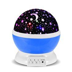 Fai dormire il tuo bimbo sonni tranquilli o rendi la tua stanza romantica con questa lampada da notte che proietta le stelle sul soffitto e ha anche una funzione rotante! SEGUICI ANCHE SU TELEGRAM: telegram.me/cosedadonna