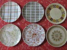Crown Lynn Side Plates - Retro Mix for sale on Trade Me, New Zealand's auction and classifieds website Side Plates, Auckland, Kiwi, Dinnerware, Nostalgia, Decorative Plates, Porcelain, Collections, Pottery