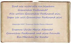 2017  Susanne Ulrike Maria Albrecht Graureiher Ferdinand und seine Freunde
