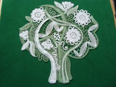 Irish lace, crochet, crochet patterns, clothing and decorations for the house, crocheted. Hardanger Embroidery, Ribbon Embroidery, Bobbin Lace Patterns, Crochet Patterns, Craft Patterns, Irish Crochet, Crochet Lace, Romanian Lace, Lace Art