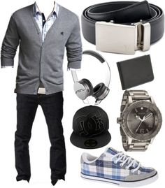 """The Steel Belt - Plaid is bad!"" by kristinmadsen on Polyvore"