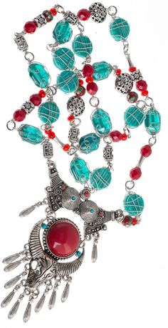 Statement Necklace for John Bead