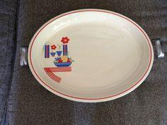 Vintage Homer Laughlin Fiesta Kitchen Kraft Casserole Dish with Metal Holder & Fiesta® Christmas Tree Commemorative 2017 Dinner Plate | Dillard\u0027s ...