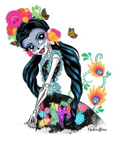 Skelita Calaveras. by MoySchiaffino on DeviantArt