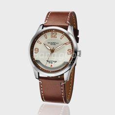 EYKI Mens Leather Band Calendar Commerce Wrist Watch Gift Free Shipping!  - US$13.20