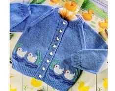 Vintage Knitting Pattern Knit Baby Boy Girl Toddler Diamond | Etsy Baby Knitting Patterns, Knitting For Kids, Double Knitting, Baby Patterns, Cardigan Bebe, Baby Cardigan Knitting Pattern, Knitting Wool, Vintage Knitting, Knitting Needles