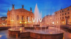 You may think you haven't heard of Lviv but as a city with many names, chances are high you did. Check out what founding means in this Ukrainian city! European Breaks, Cities In Europe, Eastern Europe, Worlds Of Fun, Continents, Ukraine, Tours, Stock Photos, Mansions