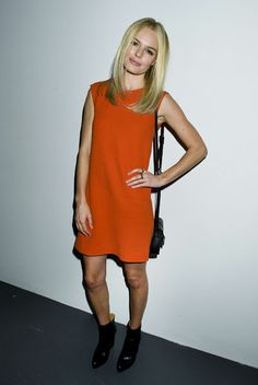 Kate Bosworth at the Calvin Klein AW12 show