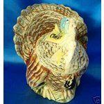 Vintage McCoy Ceramic Turkey Cookie Jar.