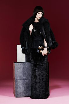Fendi Pre-Fall 2013 Collection Slideshow on Style.com