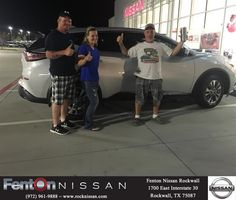 Fenton Nissan of Rockwall Customer Review  I want to thank David Rodriguez for going the extra mile to get me into a beautiful car and listen to my wants and not shove me into something I wouldn't be able to afford or like. Your  awesome at your job and I would highly recommended you too all my friends and family. He took his time to make sure I fully understood what I was buying and I appreciate it. Thank you and I'll be back to do business again.  Courtney…