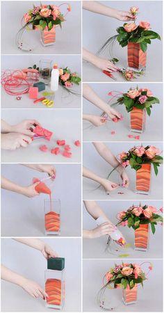 Ikebana flower arrangements -