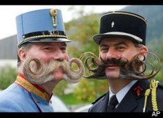 Wow. European Beard And Mustache Championship Kicks Off In Austria.