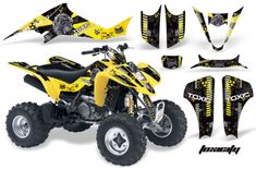 AMR RACING QUAD DECAL PART SUZUKI LTZ400 LT Z400 ATV 400 GRAPHICS STICKER KIT | eBay