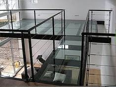 Glass flooring -macocco, glass solutions for homes stores businesses, glass Modern Staircase, Staircase Design, Spiral Staircases, Stairs Architecture, Interior Architecture, Glass Walkway, Nightclub Design, Escalier Design, Glass Balcony