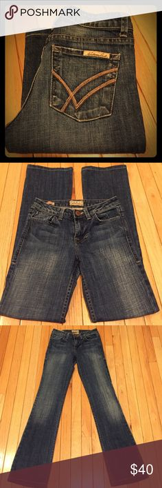 """William Rast """"Stella classic rise"""" Awesome pair of William Rast """"Stella classic low rise"""" bootcut jeans. Size 23, 32"""" inseam. Excellent condition!! William Rast Jeans Boot Cut"""