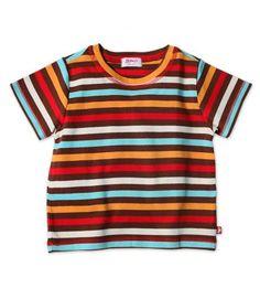 Chocolate 5 Stripe Toddler T-Shirt