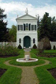 Derby Summer House (or the McIntire Tea-house), was designed in 1793 by architect  Samuel McIntire and is now located on the grounds of Glen Magna Farms, Danvers, MA.