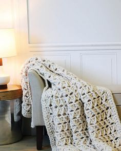 Ravelry: Faux Cabled Blanket pattern by Tamara Kelly