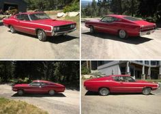 1968 Ford Torino GT Fastback 390  this is like the first car my hubby & I bought after we were married; same style and color.  can you say fast!!