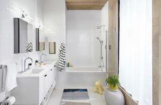 bathroom 2021 – Szukaj wGoogle Smart Kitchen, Kitchen And Bath, Touchless Kitchen Faucet, Hinoki Wood, Smart Toilet, New Bathroom Designs, Smart Home Technology, Traditional Bathroom, Bathroom Faucets