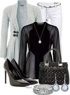 """Style the Cardigan"" by christa72 on Polyvore"