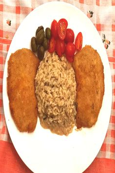 Breaded Pork Chops Paired With One Of Our Many Variety Instant RiYou can find Breaded pork chops and more on our website. Breaded Pork Chops, Grains, Rice, Canning, Website, Food, Essen, Meals, Home Canning