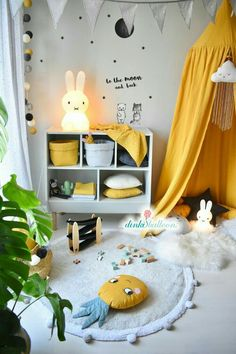 Yellow inspirations bedrooms | Bring the bright colours to your kids' room with Circu Magical Furniture! Find more ideas CIRCU.NET