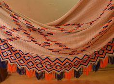 Resultado de imagen para chinchorros wayuu de equipos de futbol Pets, Pearl Necklaces, Football Team, Tejidos, Needlepoint, Culture, Home