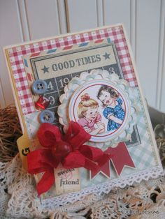 Another adorable card by Cherry Nelson @ Cherry's Jubilee
