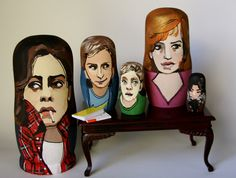 The Breakfast Club Nesting Dolls