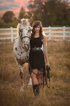 Senior girl portrait idea with her horse