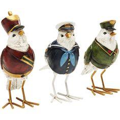 Deco Figurine Uniform Bird Assorted - KARE Design