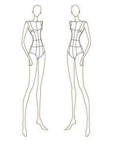 fashion design body sketches | Fashion Style Share