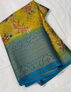 Silk Saree Banarasi, Soft Silk Sarees, Bridal Silk Saree, Organza Saree, Unique Mehndi Designs, Henna Designs, Silk Sarees With Price, Brocade Blouses, Saree Trends