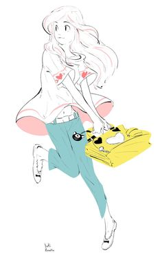 yuki_kawatsu » art » drawing » inspiration » illustration » artsy » sketch » pinterest » design