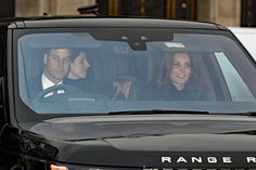 Royal Double Date! Harry and Meghan Join William and Kate for Christmas Lunch with the Queen