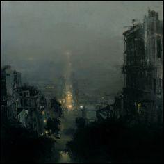 a night under fog / jeremy mann