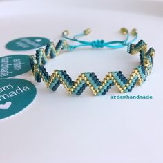 Diy Jewelry, Beaded Jewelry, Handmade Jewelry, Beaded Bracelets, Jewelry Making Tutorials, Handmade Bracelets, Beading Patterns, Friendship Bracelets, Seed Beads