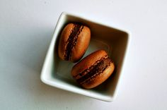CHOCOLATE MACAROONS Adapted from The Sweet Life in Paris by David Lebovitz IN Rufflesaurus