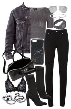 """""""Untitled #20004"""" by florencia95 ❤ liked on Polyvore featuring McQ by Alexander McQueen, Topshop, Acne Studios, Native Union, Calvin Klein Collection, Givenchy, Anine Bing, Humble Chic, CC and Victoria Beckham"""