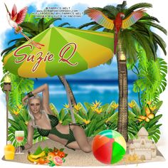 """Poser """"Melissa"""" by Tammy's Welt Kit """"Tropical"""" by Tammy's Welt"""