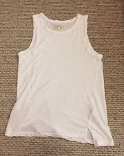 "CURRENT ELLIOT 100% Cotton ""The Muscle Tee Sugar 3 Top Shirt MSRP $74"