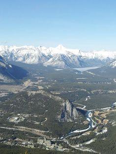 The view Banff, Mountains, Nature, Travel, Naturaleza, Viajes, Traveling, Natural, Tourism