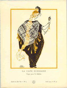 Theatre cape, 1914