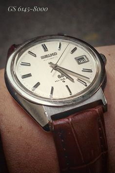 Grand Seiko Hi-Beat 36000 - Coolest Vintage Seiko Automatic, Affordable Watches, Vintage Watches, Omega Watch, Beats, Sober, Accessories, Samurai, Clocks