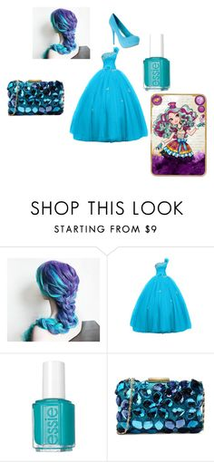 """""""Madeline Hatter Inspired Prom"""" by ceridwen123 ❤ liked on Polyvore featuring Essie and Love Moschino"""