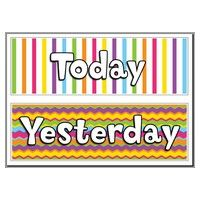 Today, Tomorrow and Yesterday Headers printables