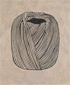 Roy Lichtenstein / Twine.