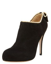 valentino pearl booties - LOVE!!!!!